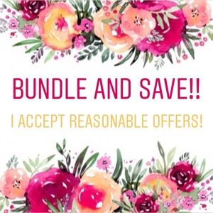 Bundle & Save! 🌺 I accept all reasonable offers!